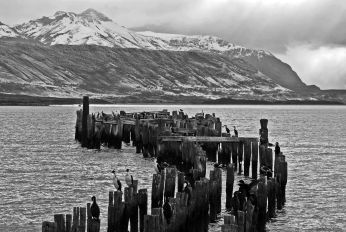 April : living in Puerto Natales, Chile