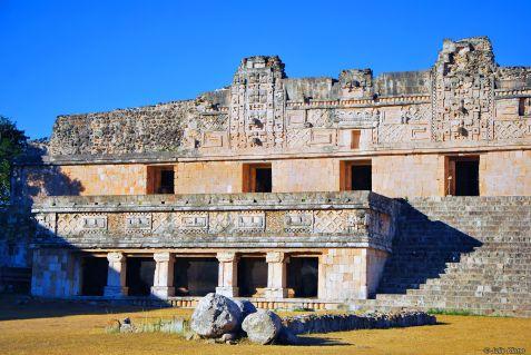 Cuadrangle of the Nuns, Uxmal, Mexico