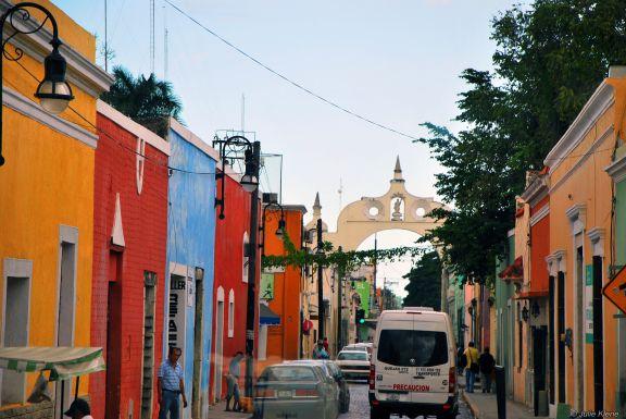 colorful Merida, Mexico