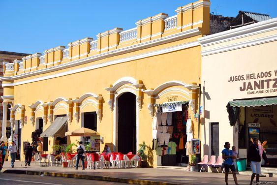 Main Plaza, Merida, Mexico