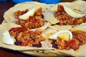 tacos de lomito, Mexico