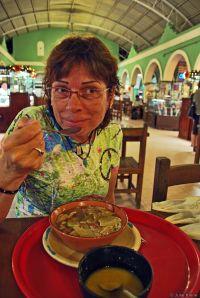 sopa de lima, Mexico