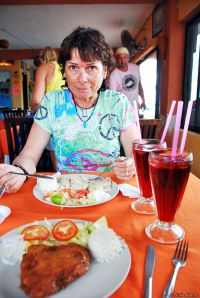 seafood lunch, Mexico