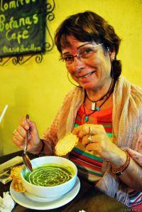 sopa de chaya, Mexico