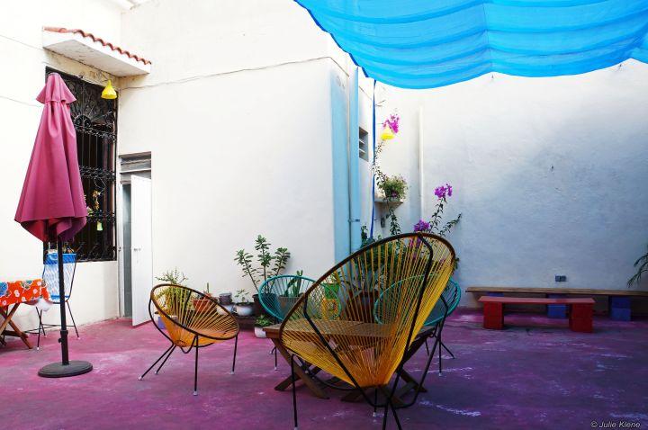 Calle 55 crêperie patio, Merida, Mexico