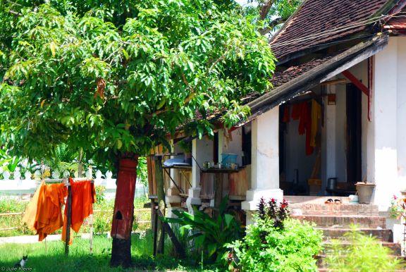 LPB temple, Laos