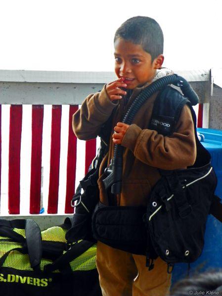 boy in Belize - April 2013