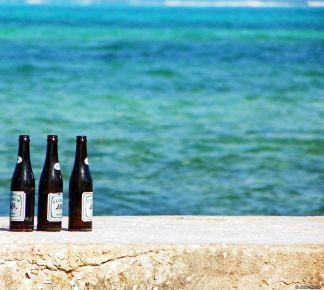 beer on the peer Belize