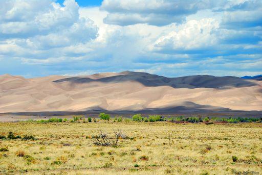 sand dunes, CO, USA