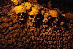 Catacombs, France