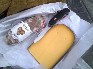 saucisson & fromage, Brugge, Belgium