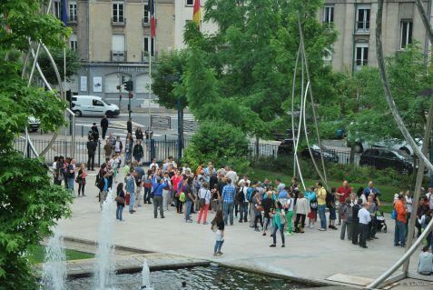 Reims becomes a deaf village