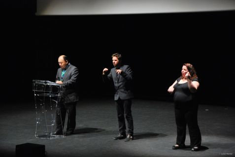 a sign language interpreter's life