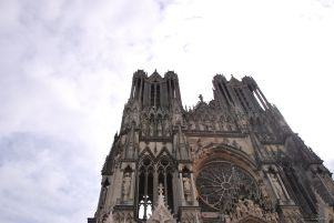 visiting Reims Cathedral