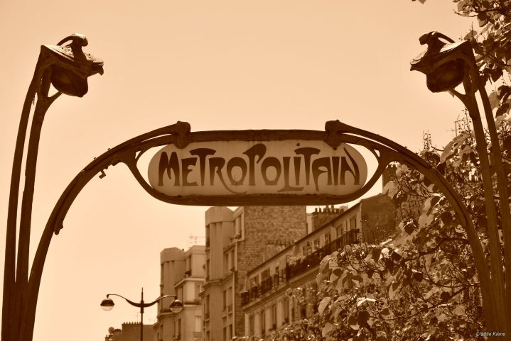 métro Paris, France