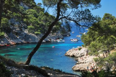 Calanque de Port-Pin, France