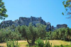Castle of Baux de Provence, France