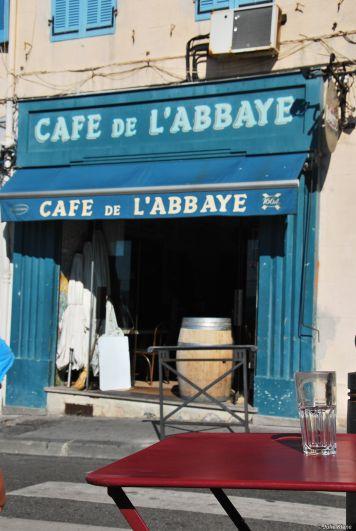 a drink in Marseille
