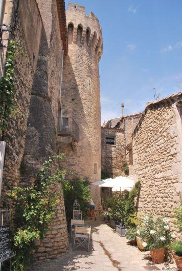 street of Gordes, France
