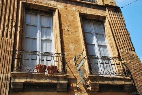 penis on the balcony, Aix-en-Provence, France