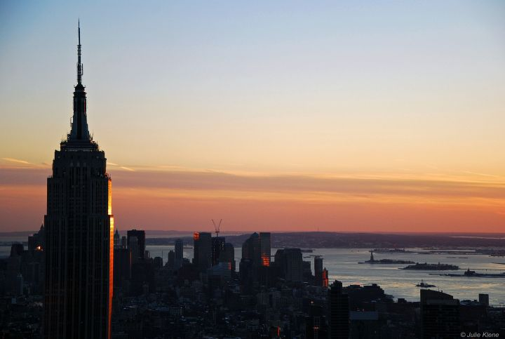 ESB sunset, NYC