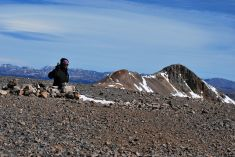 top of Mt Cameron, 14.239 ft (4.339m), CO, USA