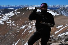 top of Mt Lincoln 14.286 ft (4.354m), CO, USA