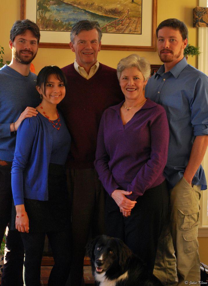 Paola's family - Nov. 2013
