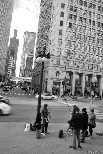 street music, Chicago, IL, USA