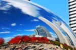 Cloud Gate at Milenium Park, Chicago, IL, USA