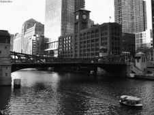 by the river, Chicago, IL, USA
