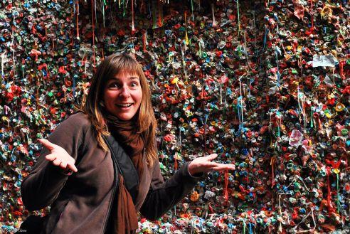 Gum Wall, Seattle, WA, USA