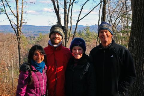 Thanksgiving in New Hampshire, USA