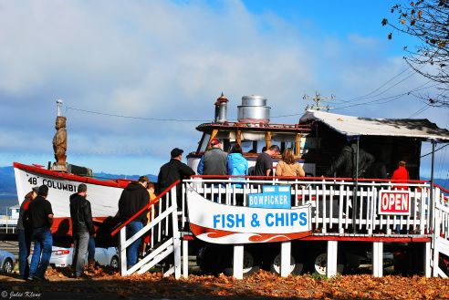 fish & chips in Astoria, OR, USA