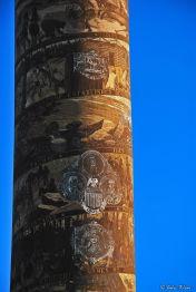 detail of Astoria Column, OR, USA