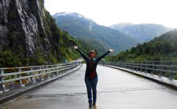 Carretera Austral : bus ride Chaiten/Coyhaique