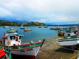 Castro, Chiloe island, Chile