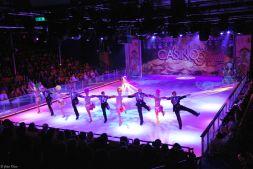 ice show, Caribbean cruise