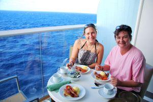 breakfast, Caribbean cruise