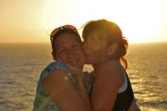 Audrey & I, Caribbean cruise, USA