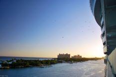 sunrise in Nassau, Bahamas - Caribbean cruise