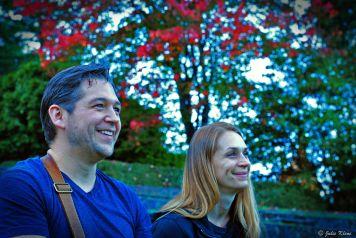 Joshua & Erica at Rose Test Garden, Portland, OR, USA
