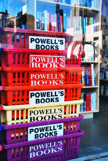 Powell's Bookstore, downtown Portland, OR, USA