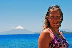Audrey in Puerto Varas, Chile