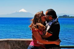 with Raul in Puerto Varas, Chile