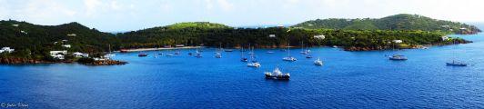 St Thomas view, Caribbean cruise