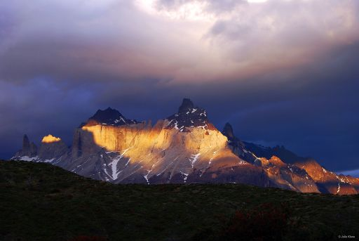 sunset in TdP, Chile