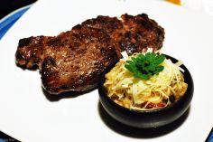 bifteck at Café Kaiken, Puerto Natales, Chile