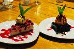 dessert at Café Kaiken, Puerto Natales, Chile