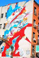 street art in Chinatown, NYC, USA